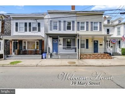 39 Mary Street, Bordentown, NJ 08505 - #: 1002288762