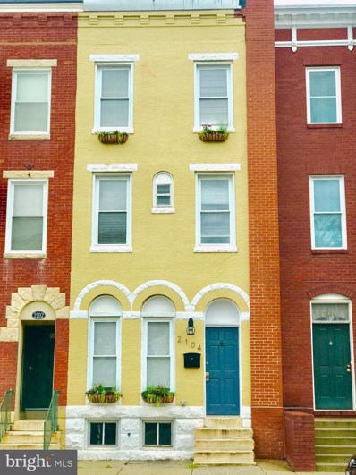 2104 Barclay Street, Baltimore, MD 21218 - #: 1002290306