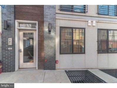 839 N 16TH Street UNIT 1, Philadelphia, PA 19130 - MLS#: 1002300608