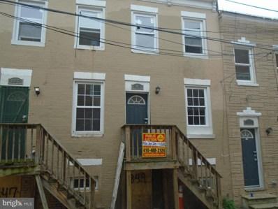 849 Reinhardt Street, Baltimore, MD 21230 - MLS#: 1002306808