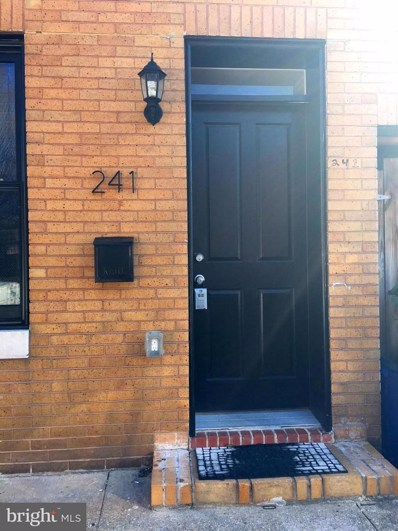241 Regester, S Street, Baltimore, MD 21231 - #: 1002308974