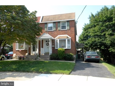 4026 Evans Lane, Drexel Hill, PA 19026 - MLS#: 1002336064