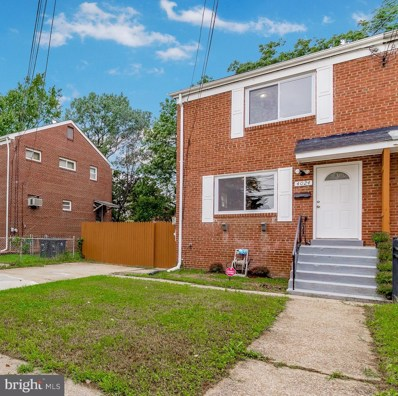 4024 27TH Avenue, Temple Hills, MD 20748 - #: 1002343666