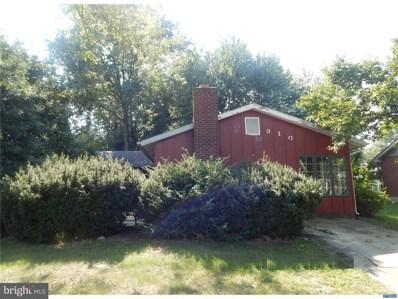 910 Wilson Drive, Dover, DE 19904 - MLS#: 1002344758
