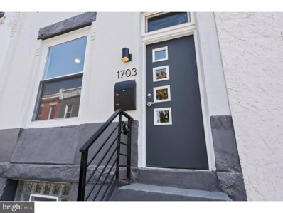 1703 N Newkirk Street, Philadelphia, PA 19121 - MLS#: 1002345378
