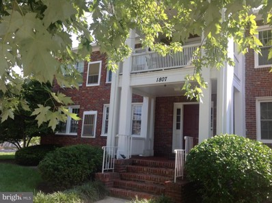 1807 Dewitt Avenue UNIT F, Alexandria, VA 22301 - MLS#: 1002346878
