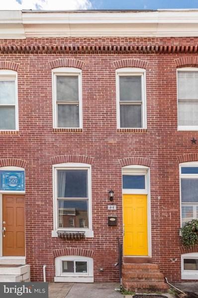 507 Clement Street E, Baltimore, MD 21230 - MLS#: 1002351382