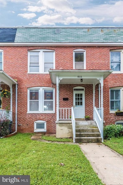 815 Motter Avenue, Frederick, MD 21701 - MLS#: 1002352494