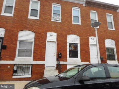615 Curley Street N, Baltimore, MD 21205 - MLS#: 1002352994
