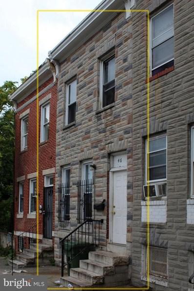 46 Pulaski Street, Baltimore, MD 21223 - #: 1002353410