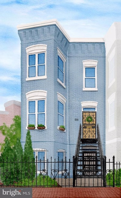 816 13TH Street NE, Washington, DC 20002 - MLS#: 1002405472