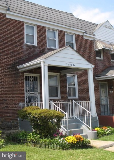 222 Mount Holly Street, Baltimore, MD 21229 - #: 1002424422