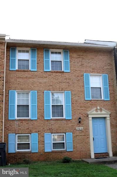 8610 Terrace View Court, Manassas, VA 20110 - MLS#: 1002481426