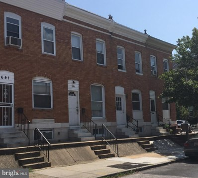 645 Macon Street, Baltimore, MD 21224 - MLS#: 1002491274