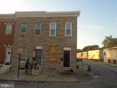2680 Dulany Street, Baltimore, MD 21223 - #: 1002609754