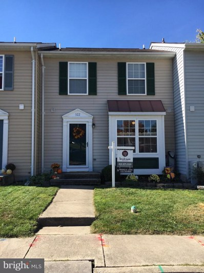 522 South Hills Court, Westminster, MD 21158 - MLS#: 1002613785