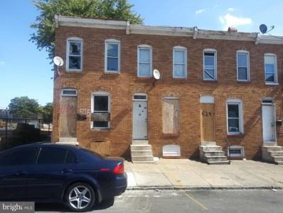 525 Catherine Street, Baltimore, MD 21223 - #: 1002617908