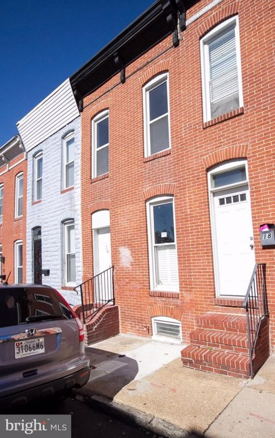 16 Gittings Street E, Baltimore, MD 21230 - MLS#: 1002620181