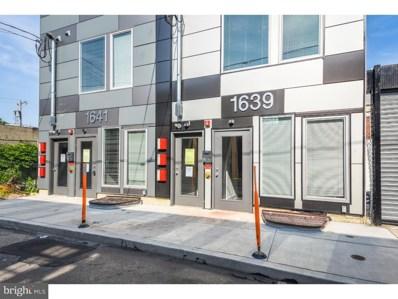 1639 N Philip Street UNIT B, Philadelphia, PA 19122 - MLS#: 1002653686
