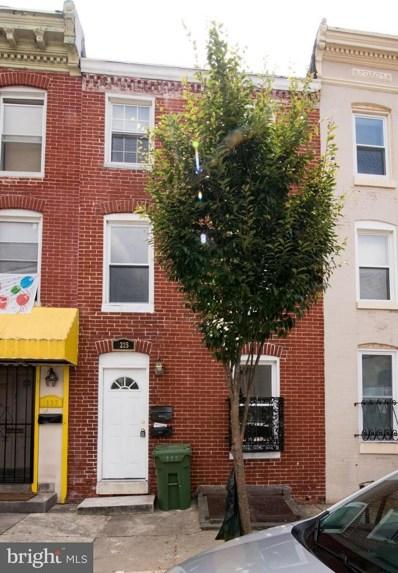 1225 Hollins Street, Baltimore, MD 21223 - MLS#: 1002750062