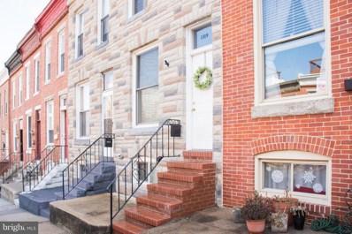1319 Webster Street, Baltimore, MD 21230 - MLS#: 1002758982