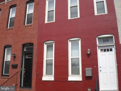 219 Fulton Avenue S, Baltimore, MD 21223 - MLS#: 1002763355