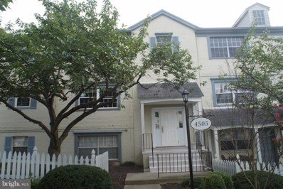 4505 Romlon Street UNIT 101, Beltsville, MD 20705 - MLS#: 1002763840