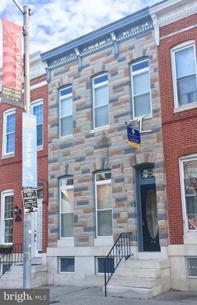 1219 Charles Street, Baltimore, MD 21230 - MLS#: 1002785215
