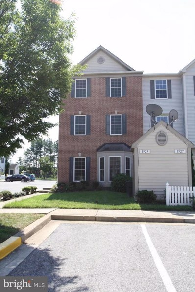 1925 Gardenia Court, Odenton, MD 21113 - MLS#: 1003042138