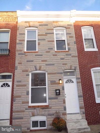 23 Curley Street, Baltimore, MD 21224 - #: 1003130527