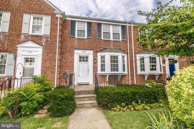 242 Brandon Road, Baltimore, MD 21212 - #: 1003251626