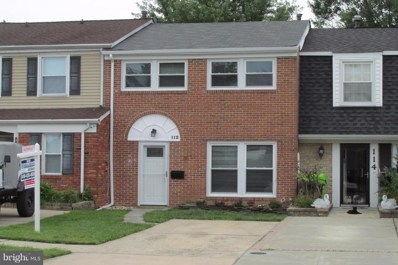 112 Driftwood Court, Joppa, MD 21085 - MLS#: 1003269301