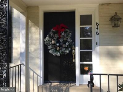 646 N Ithan Avenue, Bryn Mawr, PA 19010 - MLS#: 1003284607