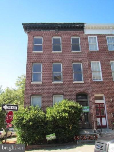 1701 Hollins Street, Baltimore, MD 21223 - MLS#: 1003297303