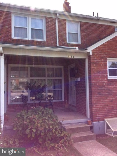 1163 Northern Parkway, Baltimore, MD 21239 - MLS#: 1003297669