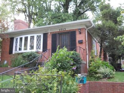 1713 Flora Lane, Silver Spring, MD 20910 - MLS#: 1003299021