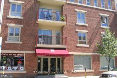 911 Charles Street S UNIT 201, Baltimore, MD 21230 - MLS#: 1003299105