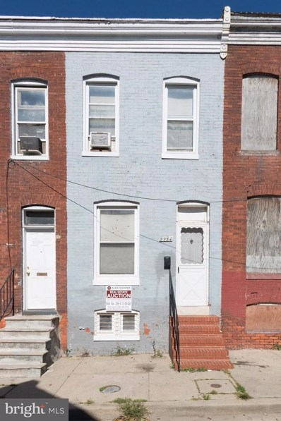 2234 Booth Street, Baltimore, MD 21223 - MLS#: 1003300929