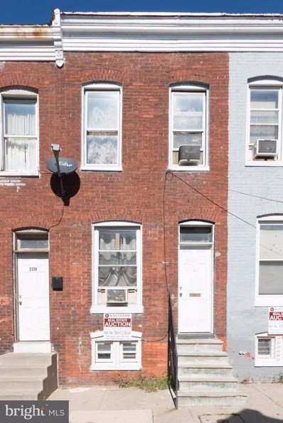 2236 Booth Street, Baltimore, MD 21223 - MLS#: 1003300933