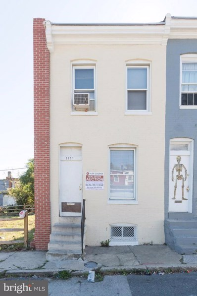 2531 Emerson Street, Baltimore, MD 21223 - MLS#: 1003301005