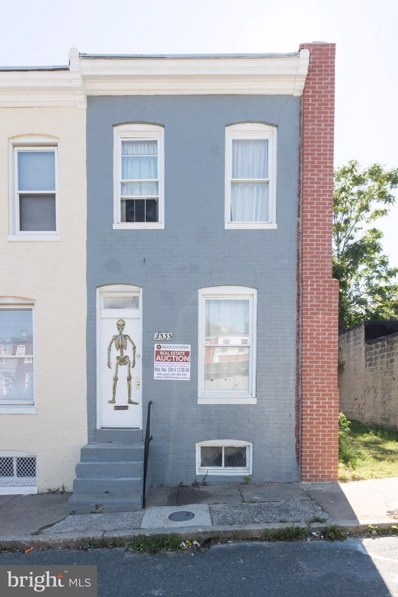 2533 Emerson Street, Baltimore, MD 21223 - MLS#: 1003301009