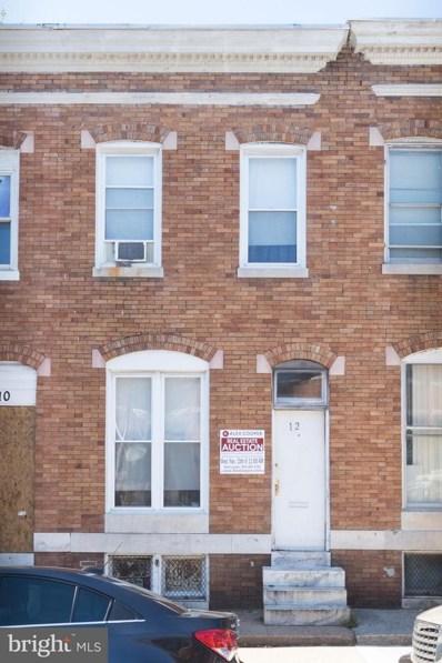 12 Bentalou Street N, Baltimore, MD 21223 - MLS#: 1003301055
