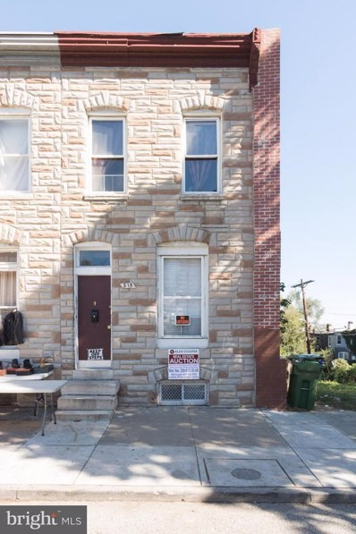315 Franklintown Road S, Baltimore, MD 21223 - MLS#: 1003301111