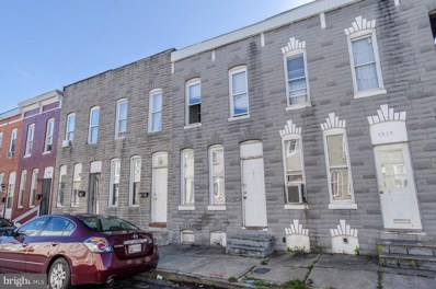 1917 Christian Street, Baltimore, MD 21223 - MLS#: 1003302099