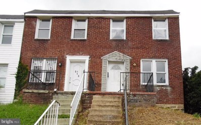 918 Ashburton Street N, Baltimore, MD 21216 - MLS#: 1003459702