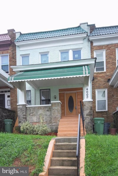 4009 Fairview Avenue, Baltimore, MD 21216 - MLS#: 1003465180