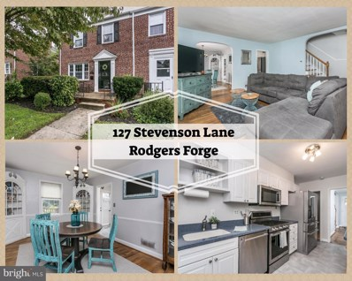 127 Stevenson Lane, Baltimore, MD 21212 - #: 1003465196
