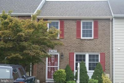 4347 Leatherwood Terrace, Burtonsville, MD 20866 - #: 1003660318