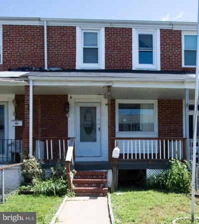 7831 St Fabian Lane, Baltimore, MD 21222 - #: 1003702362