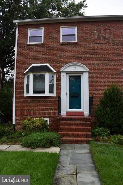 12 Myrtle Street E, Alexandria, VA 22301 - MLS#: 1003729036
